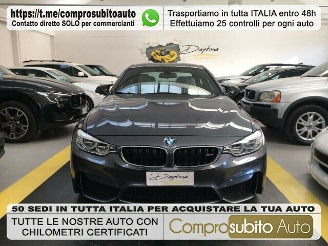 BMW M4 Coupé NO IVA-PACCHETTO COMPETITION-FRENI CARBO