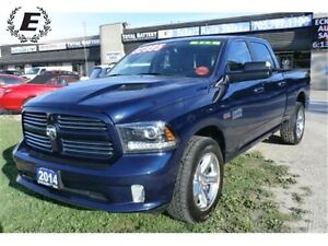2014 Ram 1500 Sport CREW CAB 4X4 | DONT PAY FOR 6 MONTHS!!!  OAC