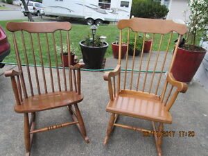 ROCKING CHAIRS 30.00 each