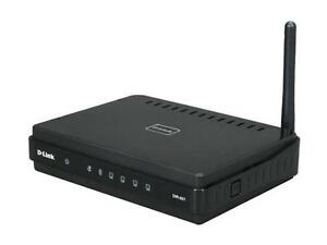 ROUTER: D-Link DIR-601 150 Mbps 4-Port Wireless Router