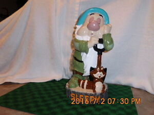 Disney Sleepy -(seven dwarfs ) refurbished/repainted