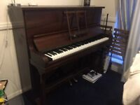 Upright piano - price negotiable - collection needed
