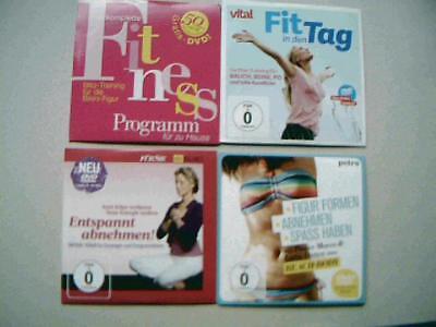 Abnehmen und Fit werden Figur formen u.ä. 4 DVDs neu