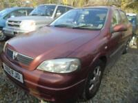 2001 Y VAUXHALL ASTRA 1.4 LS 16V 5D 90 BHP