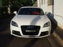 2010 Audi TT 8J MY10 S White Auto Dual Clutch Coupe Petersham Marrickville Area Preview