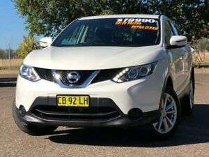 2014 Nissan Qashqai J11 ST White 1 Speed Constant Variable Wagon Hillvue Tamworth City Preview