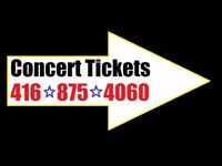 Concert Tickets to Sold Out Shows