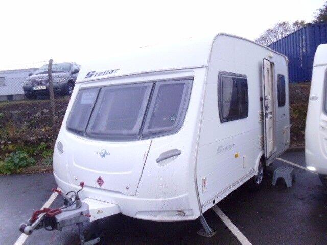2007 Lunar Stellar 400/2 Lightweight 2 Berth Touring Caravan.