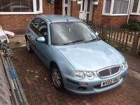 ROVER 25 (02) GOOD WORKING ORDER NEEDS MOT OR USE FOR SPARES AND REPAIRS