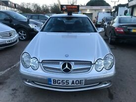 2006 Mercedes CLK 1.8 CLK200 Kompressor AUTOMATIC, 3dr, WARRANTY+FULL LEATHER SEATS
