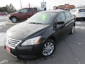 2015 NISSAN SENTRA SV LUXURY PKG NAVI S-ROOF H-SEATS BOSE CAMERA