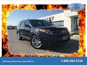 2015 Ford Explorer Limited., Moonroof, Navigation, Bucket rear s