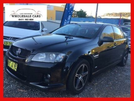 2009 Holden Commodore VE MY10 SS-V Black 6 Speed Manual Sedan Jewells Lake Macquarie Area Preview