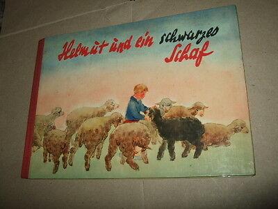 Helmut und ein schwarzes Schaf,W.Krumbach,1961,seltenes DDR-Kinder-Bilderbuch!!