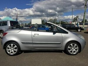 2006 Mitsubishi Colt Silver 5 Speed Manual Convertible Wacol Brisbane South West Preview