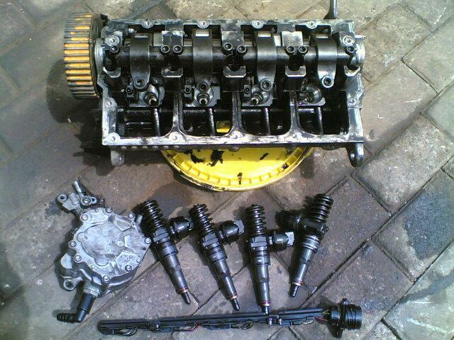 vw golf 5  /jetta 51.9tdi cylinder head ''BXE''