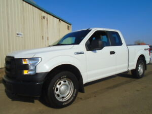 """2015 Ford F-150 4X4--SUPERCAB 145""""-ONE OWNER-CLEAN CARPROOF"""