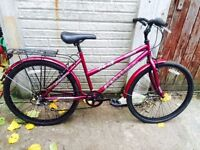 LADY'S TRADITIONAL STYLE BIKE WITH MUDGUARDS,CARRIER,ETC.