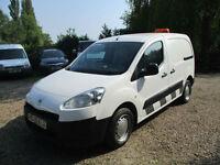 Peugeot Partner 1.6HDi 850 2012 REG 73,000 MILES NO VAT