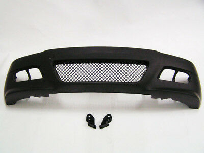 BMW E46 M3 Style Front Bumper Coupe Convert w/ OEM Fog Covers w/o Fog Lamp 00-06