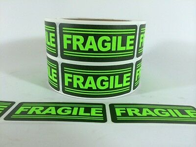 1000 1x3 Fragile Labels Stickers For Shipping Supplies Office Products Fragile