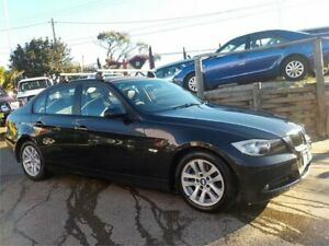 2006 BMW 320d E90 Black 6 Speed Auto Steptronic Sedan North St Marys Penrith Area Preview