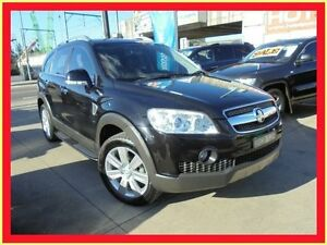 2008 Holden Captiva CG MY08 LX Black 5 Speed Automatic Wagon Holroyd Parramatta Area Preview