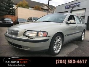 Finance available ! 2001 Volvo V70 has only 137kms