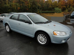 2002 Chrysler Sebring Sedan  MUST GO