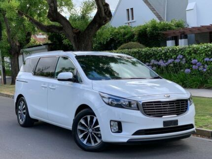 2017 Kia Carnival YP MY18 SLi White 6 Speed Sports Automatic Wagon Medindie Walkerville Area Preview