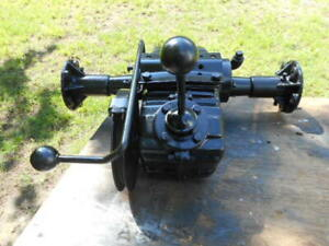 70's sears garden tractor transmission