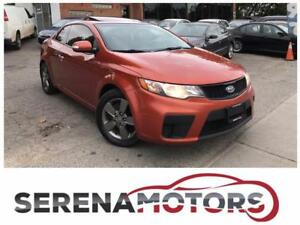 KIA FORTE KOUPE | MANUAL | SUNROOF | ONE OWNER | NO ACCIDENTS