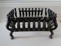 Cast iron fire basket £19