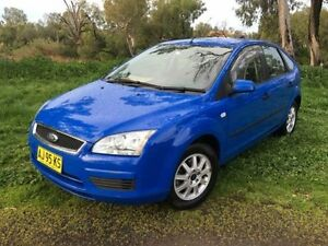 2006 Ford Focus LS LX Blue 5 Speed Manual Hatchback Coonamble Coonamble Area Preview