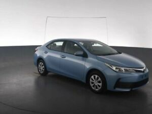 2017 Toyota Corolla ZRE172R ASCENT S-CVT Blue Constant Variable Sedan