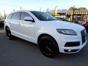 2011 Audi Q7 MY11 3.0 TDI Quattro White 8 Speed Tiptronic Wagon Pooraka Salisbury Area Preview
