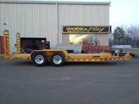 "2015 Cam 81"" x 18' HD Equipment Trailer"