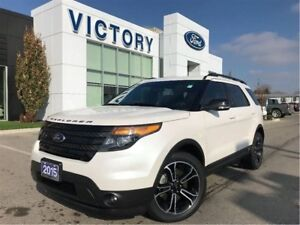 2015 Ford Explorer Sport, Navigation, Heated/Cooled Seats, Remot