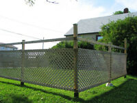 FENCE -- worth around $900 new ****Selling with posts****