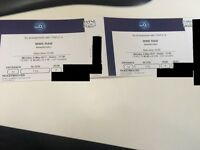 2 x WWE RAW London O2 Tickets. Sec 110 Row F IN HAND /// 8th May /// Seats next to Sec 111!!