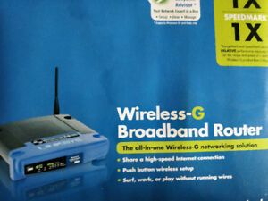 Linksys Wireless G Broadband Router for Your Home Internet