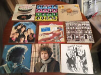 Job Lot Of 18 LP's and 30 Singles Vinyl Record Collection Various Artists.