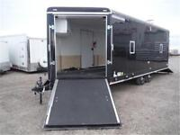 *MUST SEE* 8.5 X 24 ENCLOSED SLED TRAILER **TAX IN PRICES**