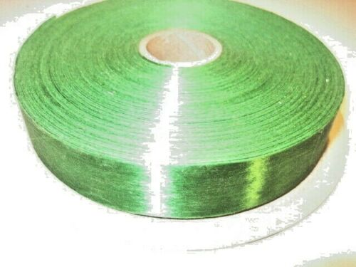 "100 YARDS 7/8"" WIDE SASHEEN 3M CHRISTMAS RIBBON - BRIGHT KELLY GREEN"