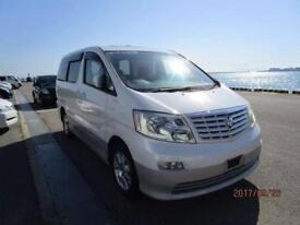 TOYOTA ALPHARD 3.0 MZ 2WD HIGH SPEC 10/2002 8 SEATS GRADE 4 69,000 MILES IN UK