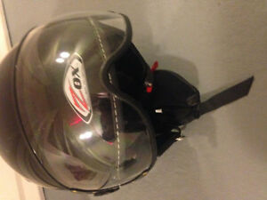 Casque de scooter ou vespa