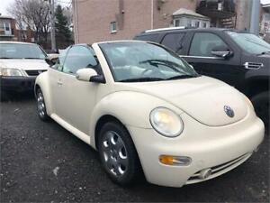 2003 Volkswagen New Beetle GLS  DECAPOTABLE  LIQUIDATION 2499$