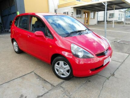 2003 Honda Jazz GD GLI Red 5 Speed Manual Hatchback Yeerongpilly Brisbane South West Preview