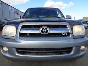 2006 Toyota Sequoia LIMITED-LEATHER-SUNROOF-DVD-HDTV-8 PSSENGERS