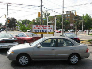 **2006 Nissan Sentra 1.8 Special Edition**   Cert & E-tested